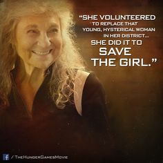 District 4's courageous victor Mags. Love her!  She took Annie's place!!! :')