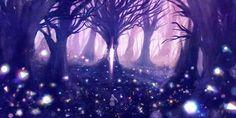 Bou nin forest original tree white hair wallpaper   1800x900 ...