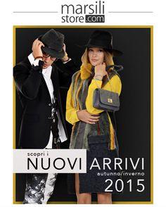 Nuova collezione per #uomo e #donna. Nessuna esitazione. http://www.marsilistore.it/ #newcollection #fallwinter2015 #autunnoinverno2015