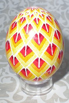 red pysanky | Recent Photos The Commons Getty Collection Galleries World Map App ... Happy Easter Wishes, Incredible Eggs, Carved Eggs, Easter Egg Designs, Ukrainian Easter Eggs, Egg Crafts, Easter Projects, Egg Art, Egg Decorating