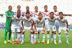 SELECCIÓN DE COSTA RICA contra Uruguay 14/06/2014
