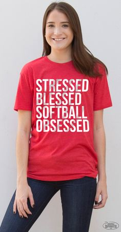 Stressed, blessed, softball obsessed...it's the softball girl lifestyle! Celebrate your #softballlife with our new collection of apparel, accessories and more!