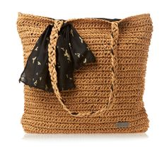 Roxy Chill Out Beach Bag - Natural | Free UK Delivery on All Orders
