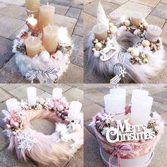Christmas Advent Wreath, Christmas Love, Christmas 2019, Winter Christmas, Christmas Crafts, Xmas, Christmas Candle Holders, Christmas Centerpieces, Christmas Tree Decorations