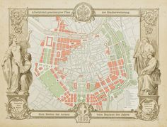 Ringstrasse Plan, Vienna, 1860 The new Ringstrasse development did not stitch the historic city center with the surrounding suburbs as much as permanently separate them. Rather than a series of urban spaces and connections it was essentially a linear void that circumnavigated the historic city.