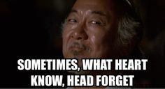 Mr. Miyagi Boxing Quotes, Tv Quotes, Wise Quotes, Movie Quotes, Great Quotes, Inspirational Quotes, Motivational, Karate Kid Quotes, Karate Kid Movie