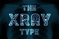 FREE: The X-Ray Type by Luuqas Design on Creative Market