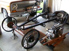 1928 chassis & newly rebuilt engine