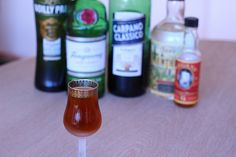 Pall Mall - vermouth and some creme de menthe