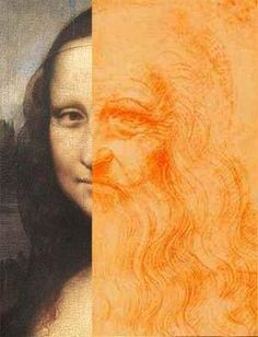 Mona Lisa as DaVinci self-portrait