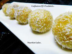 Confessions Of A Foodaholic: Mauritian Besan Ladoo ( Boondi Ladoo)