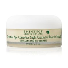 Nourish and replenish your skin's appearance overnight with this deeply hydrating cream. The wonderful scent of monoi and our exclusive Anti-Aging Stem Cell Complex leaves the skin appearing finer, smoother and more youthful. Winner of Best Night Cream, Earth Day Beauty Awards, Healing Lifestyles & Spas, 2015