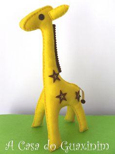 Girafa / Giraffe by A.casa.do.Guaxinim, via Flickr