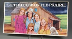 Nostalgic and vintage Little House on the Prairie board game by Parker Brothers. - Do you remember playing this as a kid?