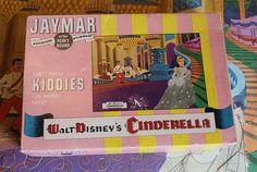 Vintage Disney Cinderella 56 Piece Puzzle - The Clock Strikes Midnight