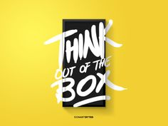 Think out of the box – By Donart Bytes Selimi