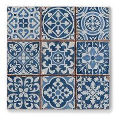 Peronda FS Faenza Classic Vintage Spanish Tile They are the perfect tiles in the hallway. Very easy to lay. The patterns are mixed and fool many into thinking they were all laid separately. Best of all, they do not show dirt and are very easy to clean.