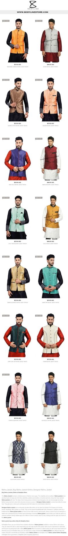 Nehru Jacket Online Shopping
