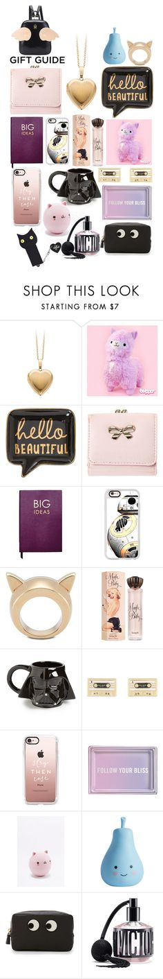 """""""BESTIES ^_^"""" by numbsunday ❤ liked on Polyvore featuring Sloane Stationery, Casetify, STELLA McCARTNEY, Benefit, Vandor, Kate Spade, Fringe, NPW, Anya Hindmarch and Victoria's Secret"""