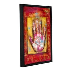 Good Healing by Elena Ray Gallery-Wrapped Floater-Framed Canvas
