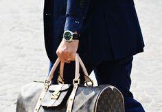 Photographs by Tommy Ton, Vanessa Jackman, Mr. Newton, Phil Oh and The Sartorialist. Tommy Ton Men, Vuitton Bag, Louis Vuitton, Men Street, Street Snap, Paris Street, Messenger Bag Men, Milan Fashion Weeks, London Fashion