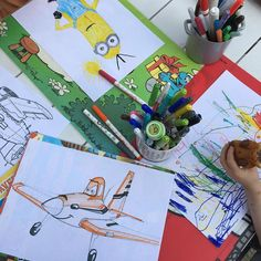 1000! #drawings #childrenplay #dessin #coloriage #gouter