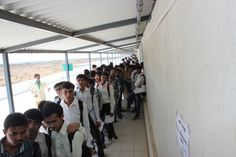 For the first time in gujarat sanjaybhai rajguru college of diploma engineering organized job fair for diploma students.