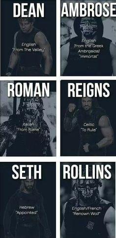 Those masks are SO badass! Dean Ambrose, Seth Rollins, & Roman Reigns l The Shield l WWE
