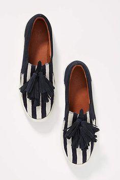 614389c8aca3 Figue x Anthropologie Karita Slide Sneakers. Wedge Flip FlopsFlat ...