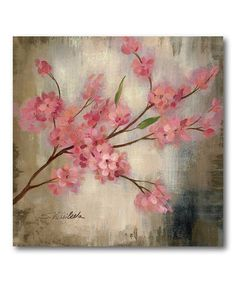 Take a look at this Spring Bloom I Canvas Wall Art by COURTSIDE MARKET on #zulily today!