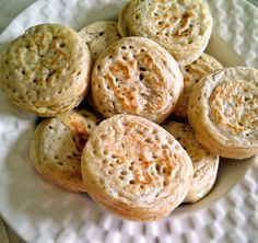 vegan crumpets!  OMG, these are totally happening!