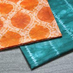 How to Dye Fabric: Shibori Stitch Resist