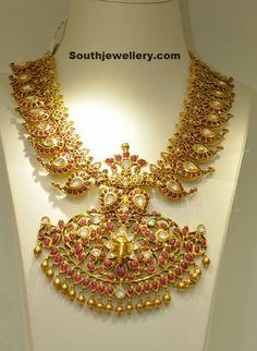 Mango Mala latest jewelry designs - Page 53 of 55 - Indian Jewellery Designs