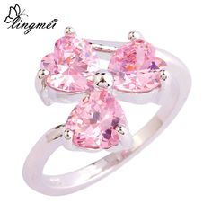 Cheap ring size, Buy Quality ring size 6 directly from China fashion rings Suppliers: JROSE Wholesale Gorgeous Fashion Princess Cut Pink CZ Silver Color Ring Size 6 7 8 9 10 11 12 Engagement Beautiful Jewelry Topaz Gemstone, Topaz Ring, Gemstone Jewelry, Silver Jewelry, Silver Rings, Amethyst Rings, Jewelry Rings, Jewelry Watches, Pink Topaz