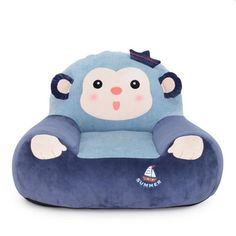 DULPLAY Tatami Cartoon Children Sofa Chair,Lazy Sofas Foldable Sofa Armchair Upholstered Couch Birthday Present-B Sofa Bench, Couch, Single Sofa Chair, Bunny And Bear, Sofa Sale, Baby Room Decor, Girl Cartoon, Room Colors, Birthday Presents