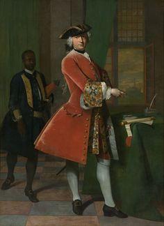 Portrait de Jan Pranger, 1742 Frans van der Mijn