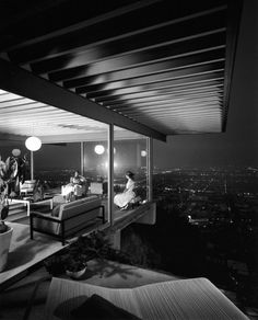 "Julius Shulman (October 10, 1910 – July 15, 2009) was an American architectural photographer best known for his photograph ""Case Study House #22, Los Angeles, 1960. Pierre Koenig, Architect."""