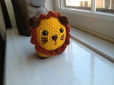 Little Amigurumi Lion : Be a crafter xd free amigurumi pattern the little lion crochet