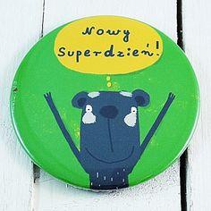 Nowy Superdzień! - LUSTERKO w POZIOMKARNIA na DaWanda.com #niezchinzpasji