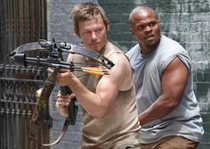 Daryl and T-Dog. TWD Throwback
