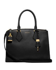 V240G Michael Kors Large Casey Satchel, gorgeous and great pockets but it is $1,195