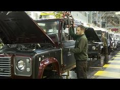 Building the Land Rover Defender - YouTube check out more content at www.nexi.tv/landroverslive