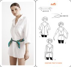 Silk scarf - ваш главный аксессуар на эту весну и лето - VictoriaLunina.com