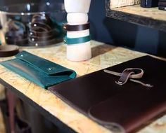 Leather goods on our shop's shelves. Visit us next Tuesday at the grand opening for  chance to win a gift voucher! . . . . #leather #leathergoods #bengjyminu #horween #patina #pocketdump #edc #everydaycarry #makersgonnamake #gentleman #heirloom #mensfashion #mensfashionpost #menwithstyle #horweenleather #rustic #handcrafted #leathercraft #denim #leatherwallets #quality #drygoods #denimhead #handmadeleathergoods #leatherbelt #folkstyle
