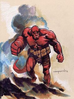 Hellboy by Cary Nord