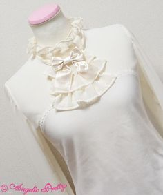 Lolibrary | Angelic Pretty - Cutsew - Simple Jabot Tie Cutsew