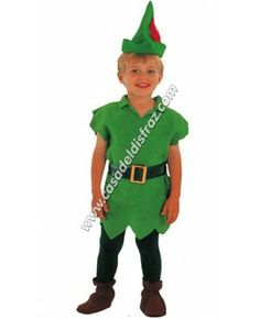 Disfraz de Robin Hood para niño. #Disfraces #Carnaval www.casadeldisfraz.com