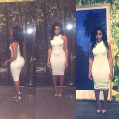 Angela Simmons, Vanessa Simmons, All White Outfit, White Outfits, Diva Fashion, Fashion Boutique, Tokyo Fashion, Hipster Fashion, Petite Fashion