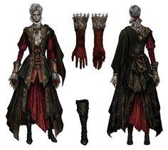 Female Knight's Attire from Bloodborne