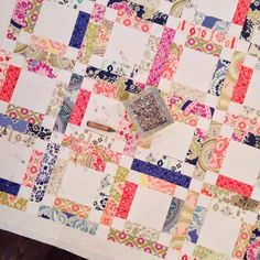 Basting quilt 2 for the day. #almostasoldastheotherone | Flickr - Photo Sharing!